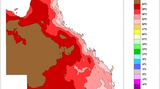Temperatures are expected to soar in the coming days with Tuesday to be the worst for southeast Queensland.