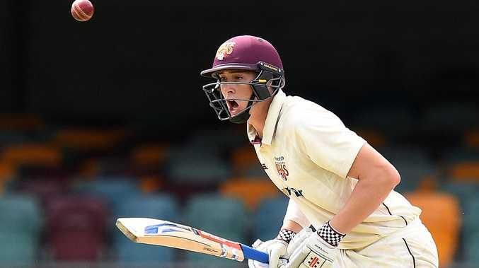 Can Queensland batsman Matt Renshaw push his case for Test selection? Picture: AAP