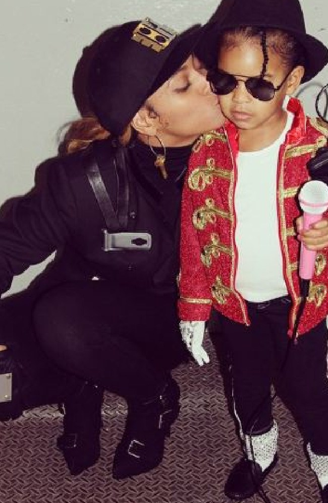Beyonce as Janet and Blue Ivy as MJ. Picture: INSTAGRAM