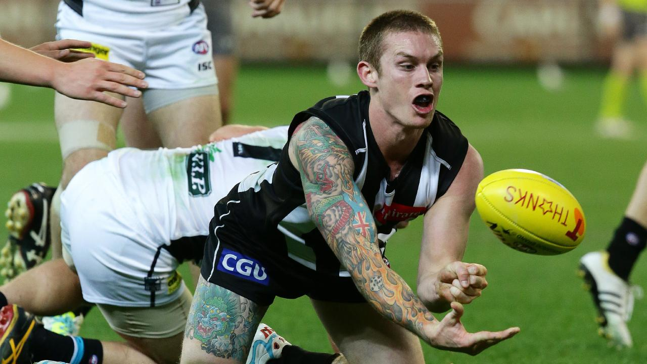Dayne Beams will return to Brisbane on Easter Thursday as a Magpie.