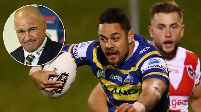Jarryd Hayne will be a noticeable absentee from Parramatta's pre-season training.