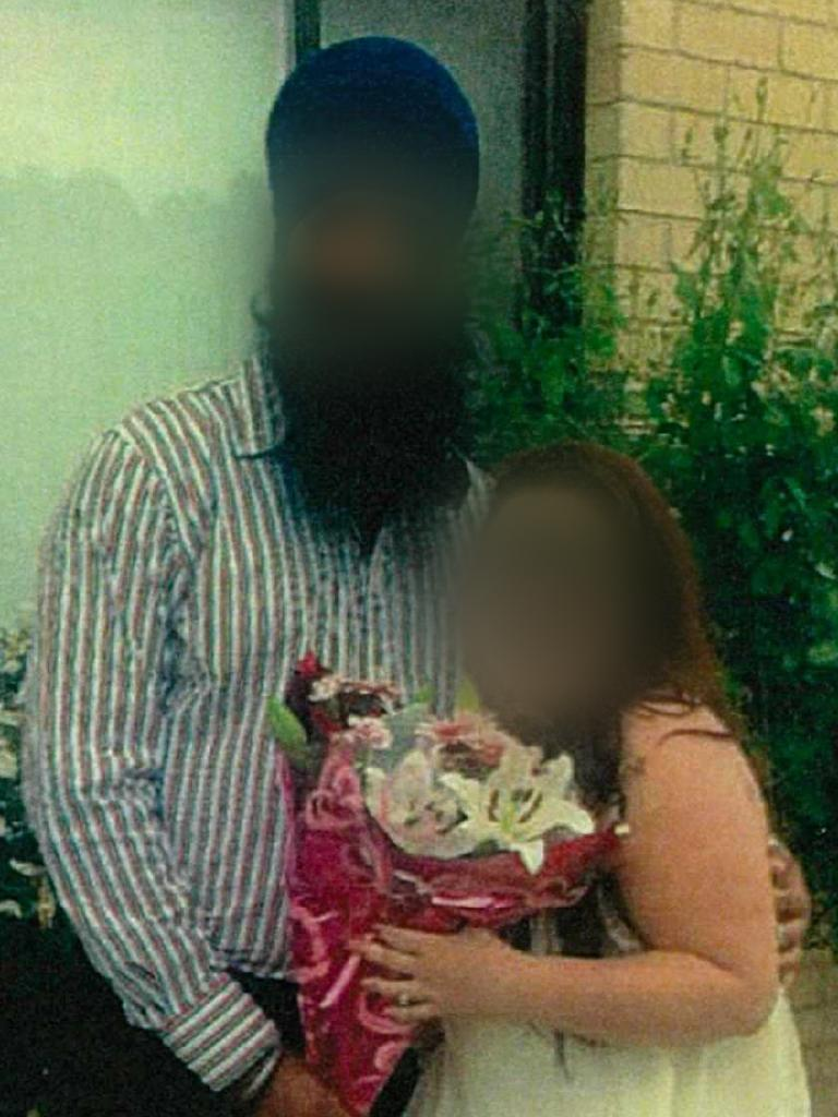 A couple whose romance Border Force says was faked.