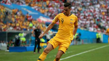 Tomi Juric is among the goal-scoring weapons for the Socceroos.