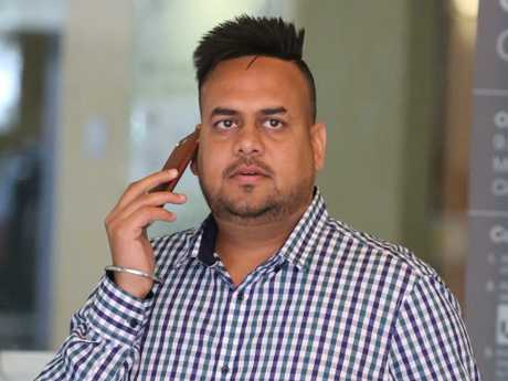 """Jagjit Singh said he was only """"helping"""" and would be defending the charges against him. Picture: John Grainger"""