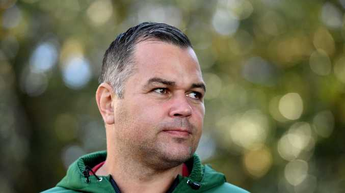 Anthony Seibold will coach the Broncos from 2020. (AAP Image/Joel Carrett)