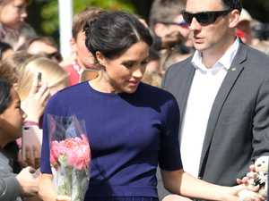 Meghan shocks with see-through dress