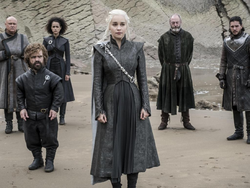 Some of the cast of Game of Thrones. Picture: Supplied