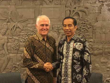 Earlier this week, Mr Turnbull met with President Joko Widodo in Bali.