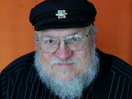 George RR Martin is author and creator of Game of Thrones. Picture: Cameron Richardson