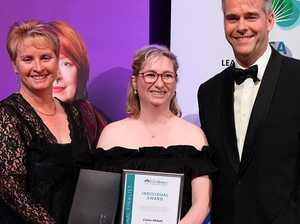 Nurse takes top individual honour at aged care awards
