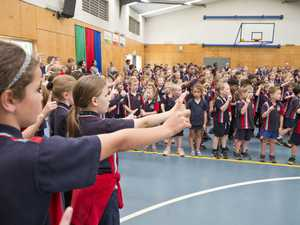 Harristown State School students find the right pitch