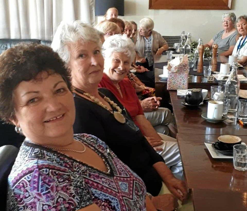 COFFEE AND A CHAT: Glasshouse Country VIEW Club ladies recently enjoyed a morning at Vianta Cafe in Beerwah.