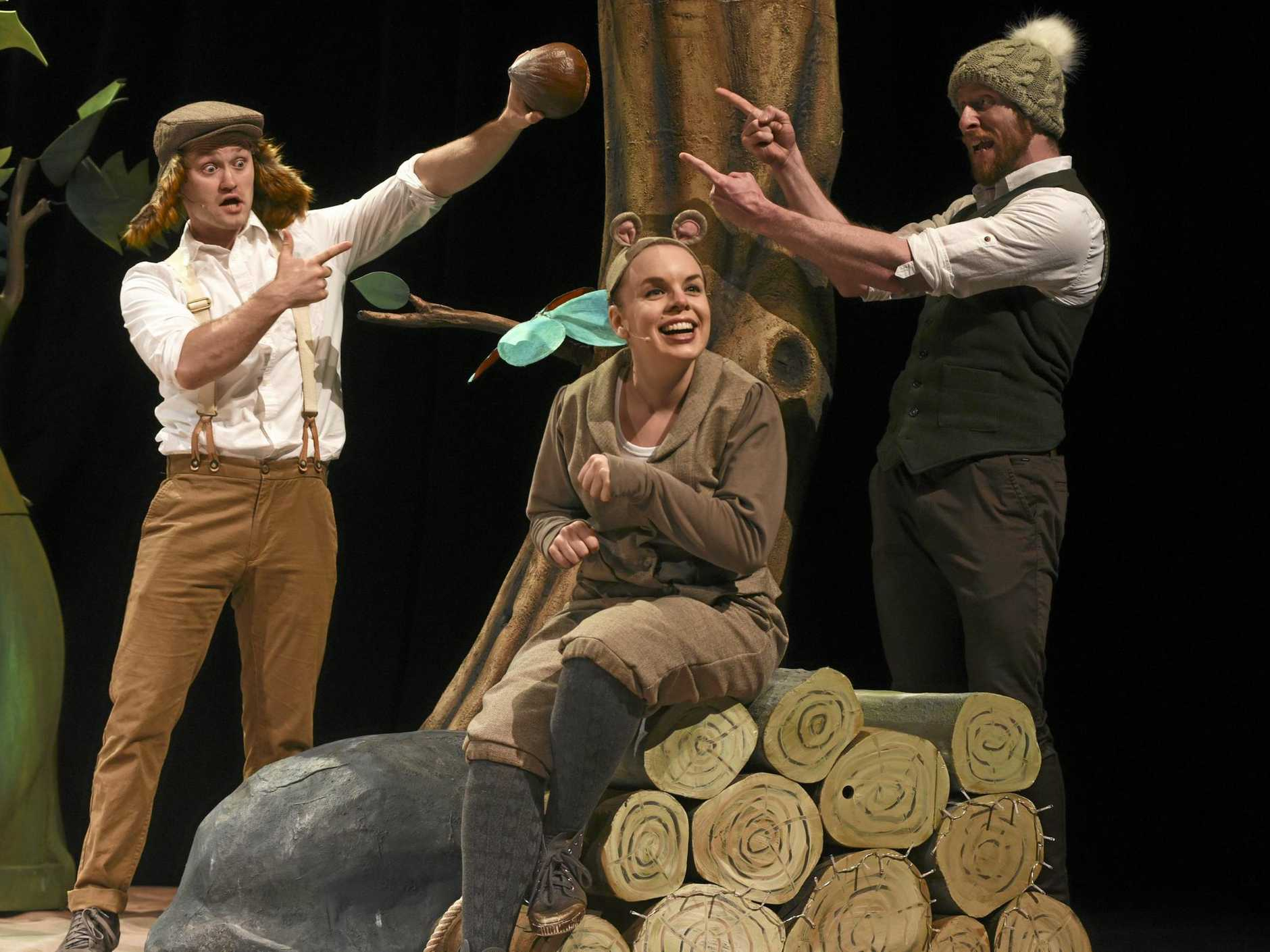 DELIGHTFUL TALE: The Gruffalo stage show will be appearing at the GECC tomorrow.