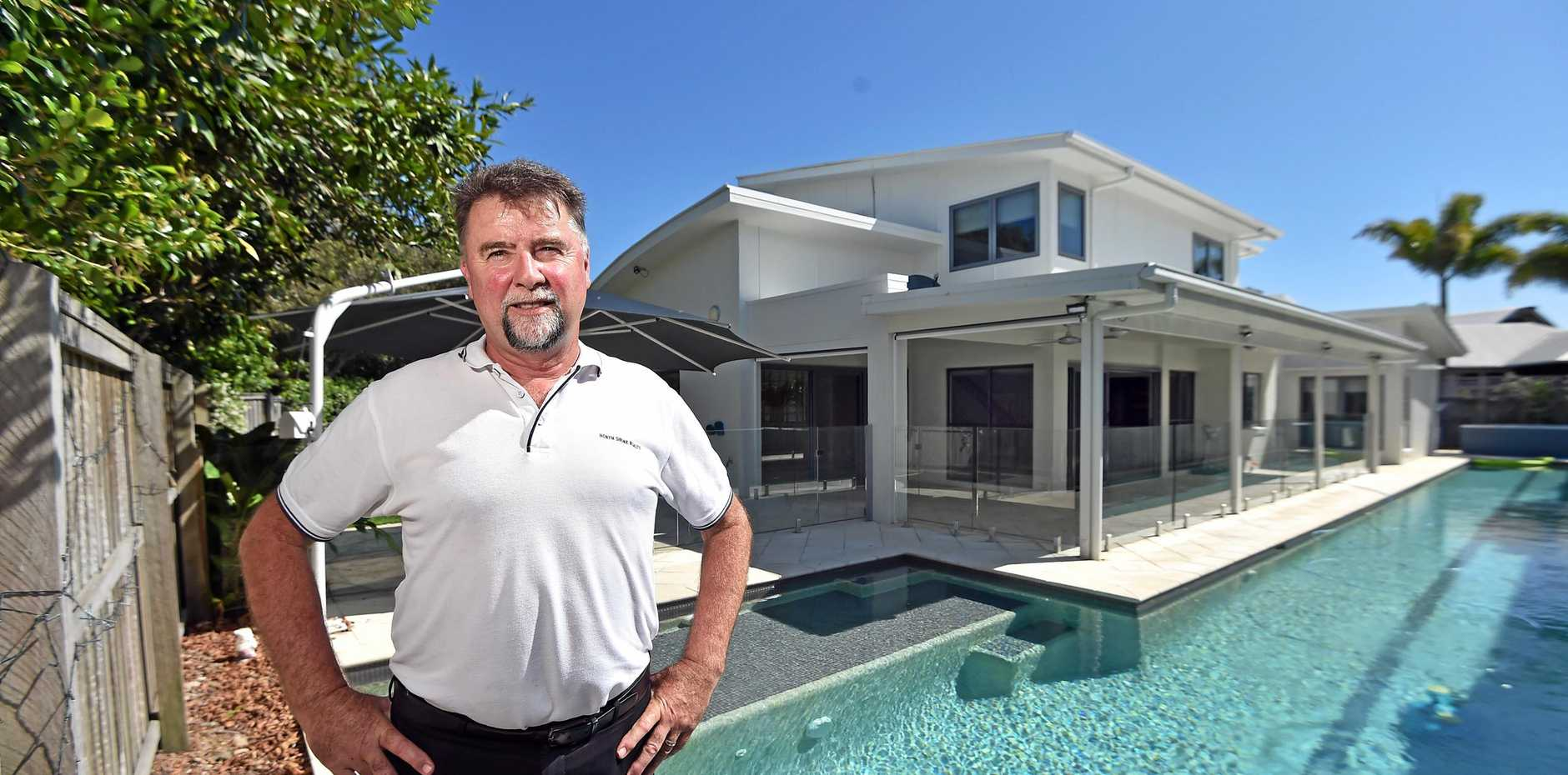 Real estate Mark McDonald has sold the same house three times in the past 12 months and everyone made money and happy with their deal.