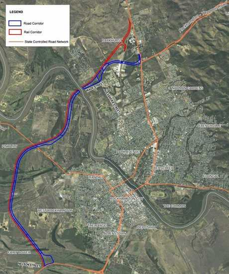 The Rockhampton Ring Road western road and rail corridor is currently in the planning and design stages.