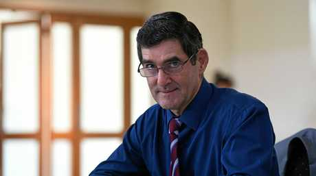 Former Speaker and Nicklin MP Peter Wellington.