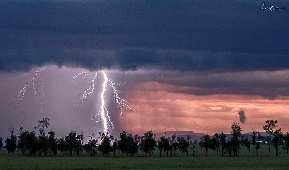 Severe storms have recently lashed the area, causing millions of dollars to Scenic Rim farmers and growers.