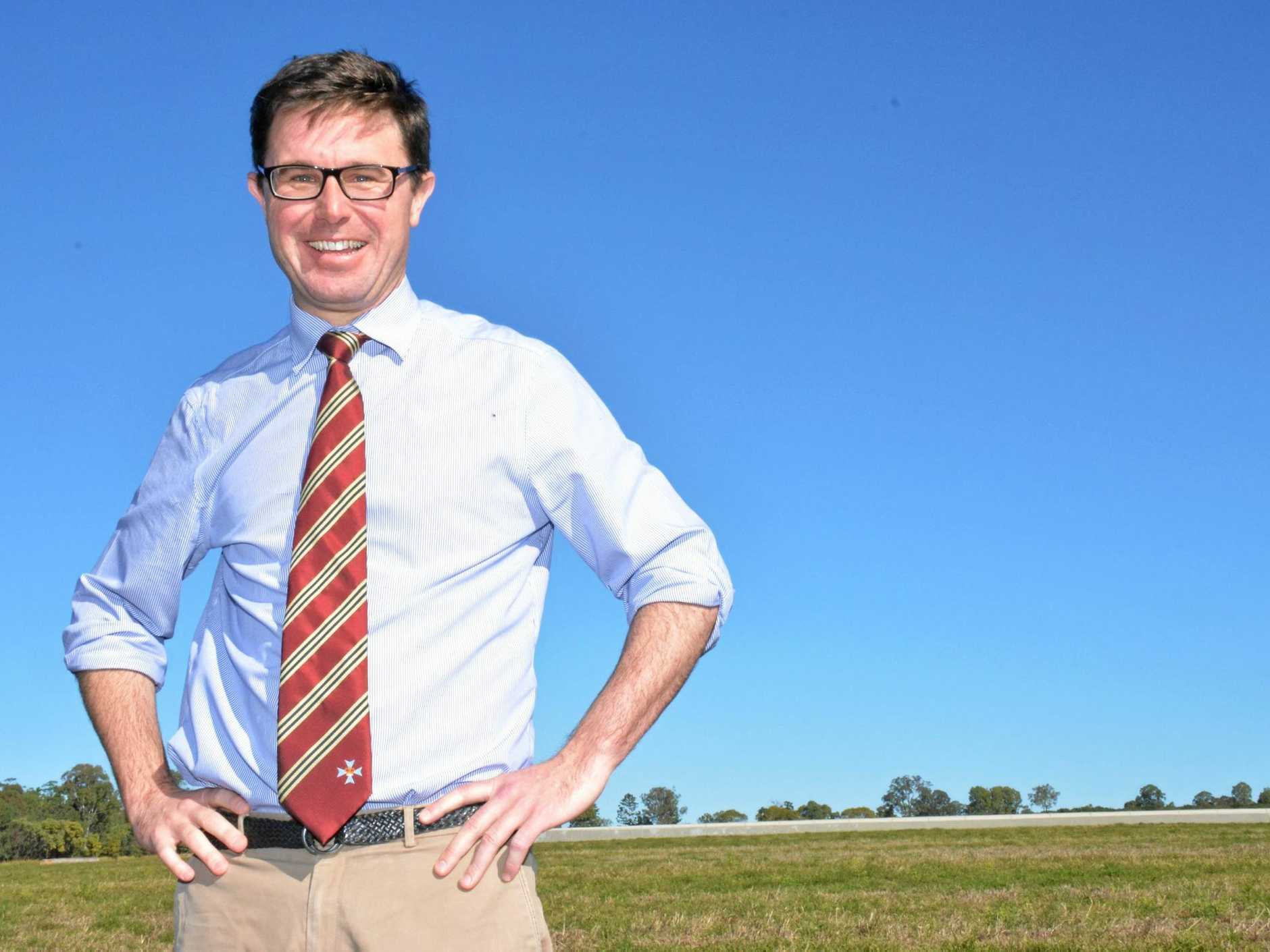 DROUGHT ASSISTANCE: Maranoa MP David Littleproud urges community groups to apply for the funding.