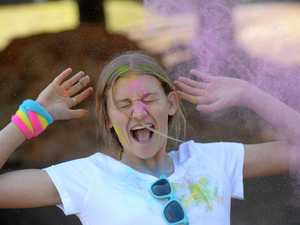 Kingaroy school takes on colour fun run