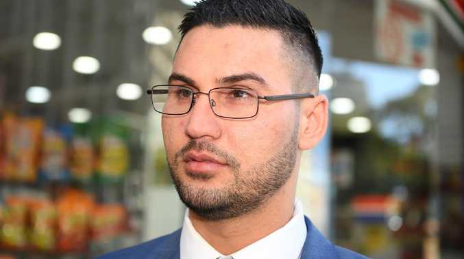 Salim Mehajer leaves The Downing Centre court during a sentencing hearing in June. Picture: Joel Carrett/AAP