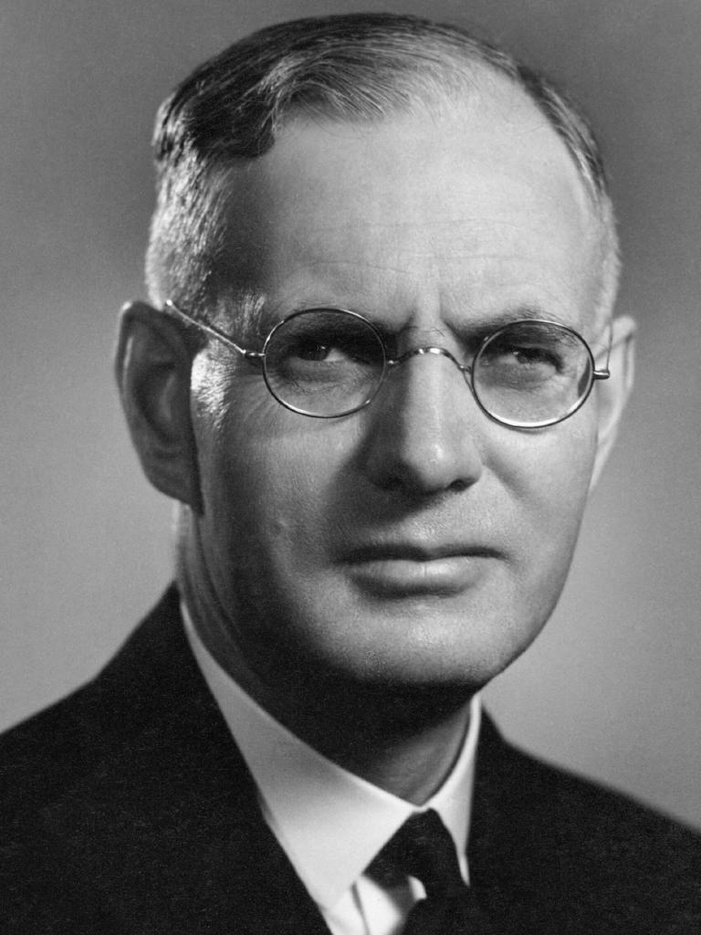 Former Labor prime minister John Curtin who opened the Australian War Memorial in 1941.