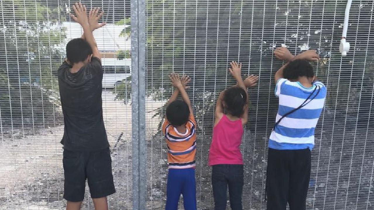 Children on Nauru. Picture: Supplied