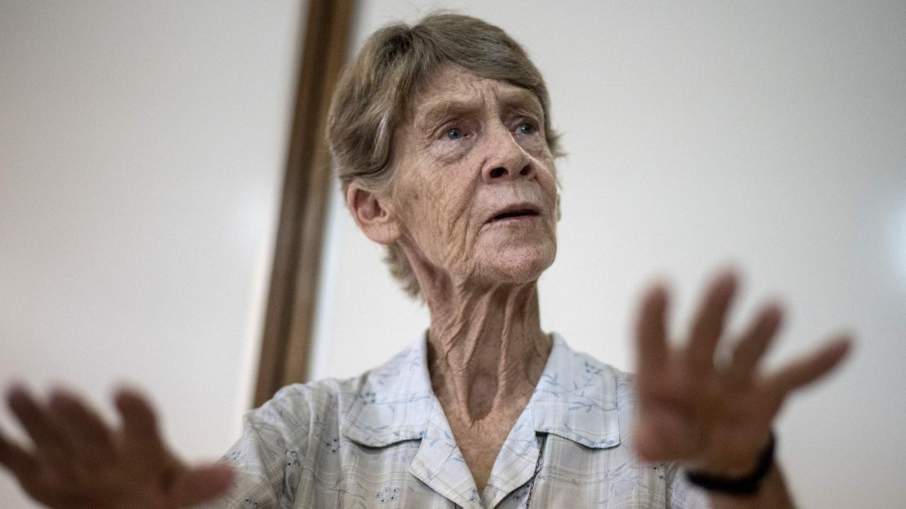 Australian missionary nun to leave Philippines after almost three decades. Picture: AFP