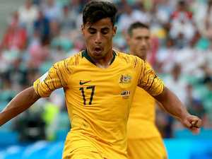 Socceroos hold breath after Arzani injury