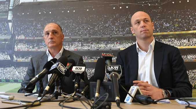 Australian Cricketers' Association president Greg Dyer (left) and chief executive Alistair Nicholson called for Steve Smith, David Warner and Cameron Bancroft's bans to be lifted immediately.