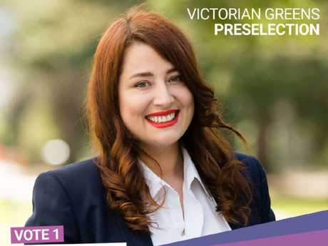 Ms Nilson had high hopes for a positive result at November's election. Picture: Twitter