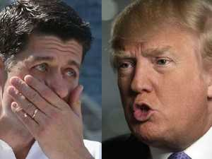 Trump snaps at 'know nothing' Paul Ryan