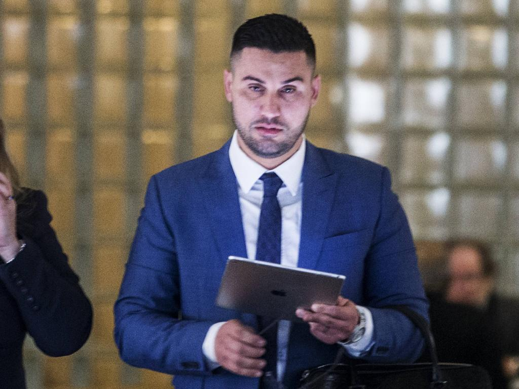 Salim Mehajer's diagnosis was revealed in court. Picture: Jenny Evans