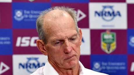 Maranta employed Wayne Bennett as Brisbane coach in 1988. (Photo by Bradley Kanaris/Getty Images)