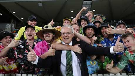 ScoMo, a man of the people. Picture Kym Smith