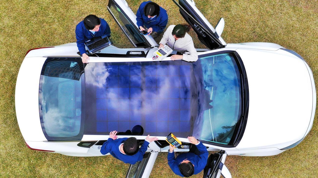 Hyundai and Kia are set to add solar panels to vehicles.