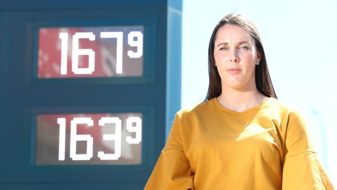 Most Australians are feeling pain at the petrol pump but new analysis shows just how crazy price hikes have been. Picture: Tait Schmaal