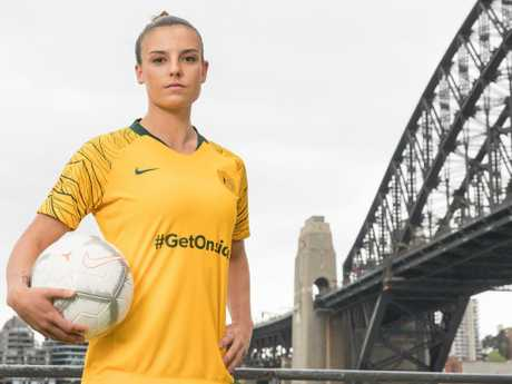 Chloe Logarzo will be among a near full-strength Matildas squad. Pic: Getty Images