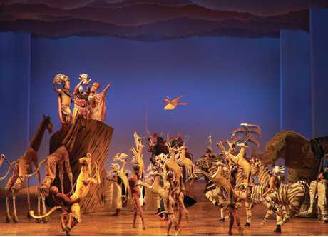 The Lion King is a big, beautiful show.