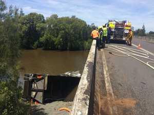 Teven Rd truck crash