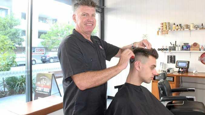Barber Geoff Willett.
