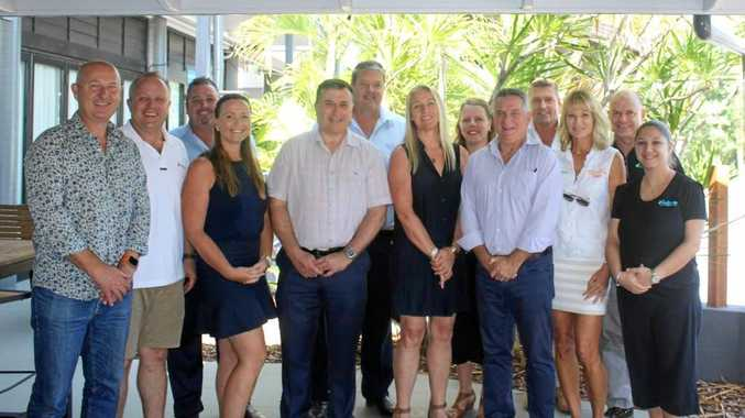 BOARD ELECTED: The members of the Tourism Whitsundays 2018/19 board following the recent annual general meeting.