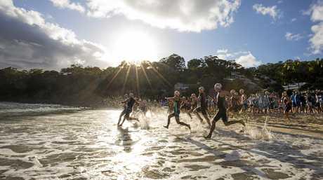 The Noosa Triathlon is as popular as ever.