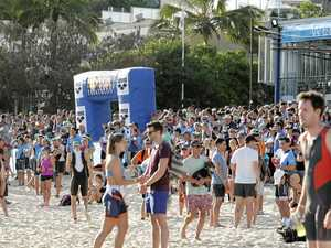 The roll call of Fraser Coast athletes at the Noosa Tri