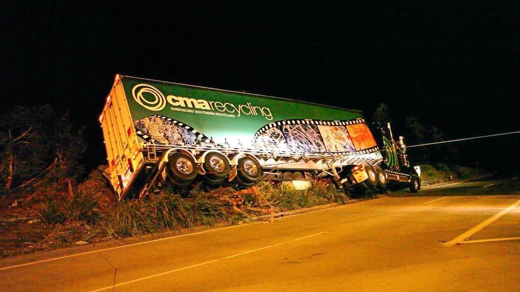 Truck crash Englands Rd 1/10/10