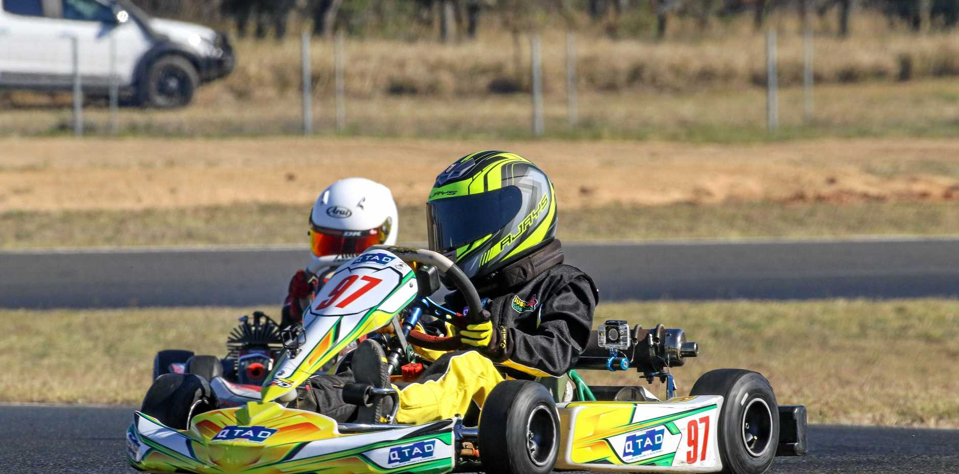 Go karting returns to Moranbah on Saturday after being closed for 18 months.