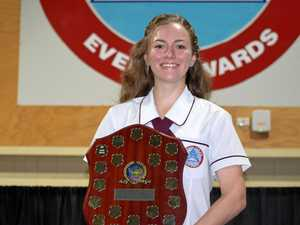 Student looks to future after winning top academic award