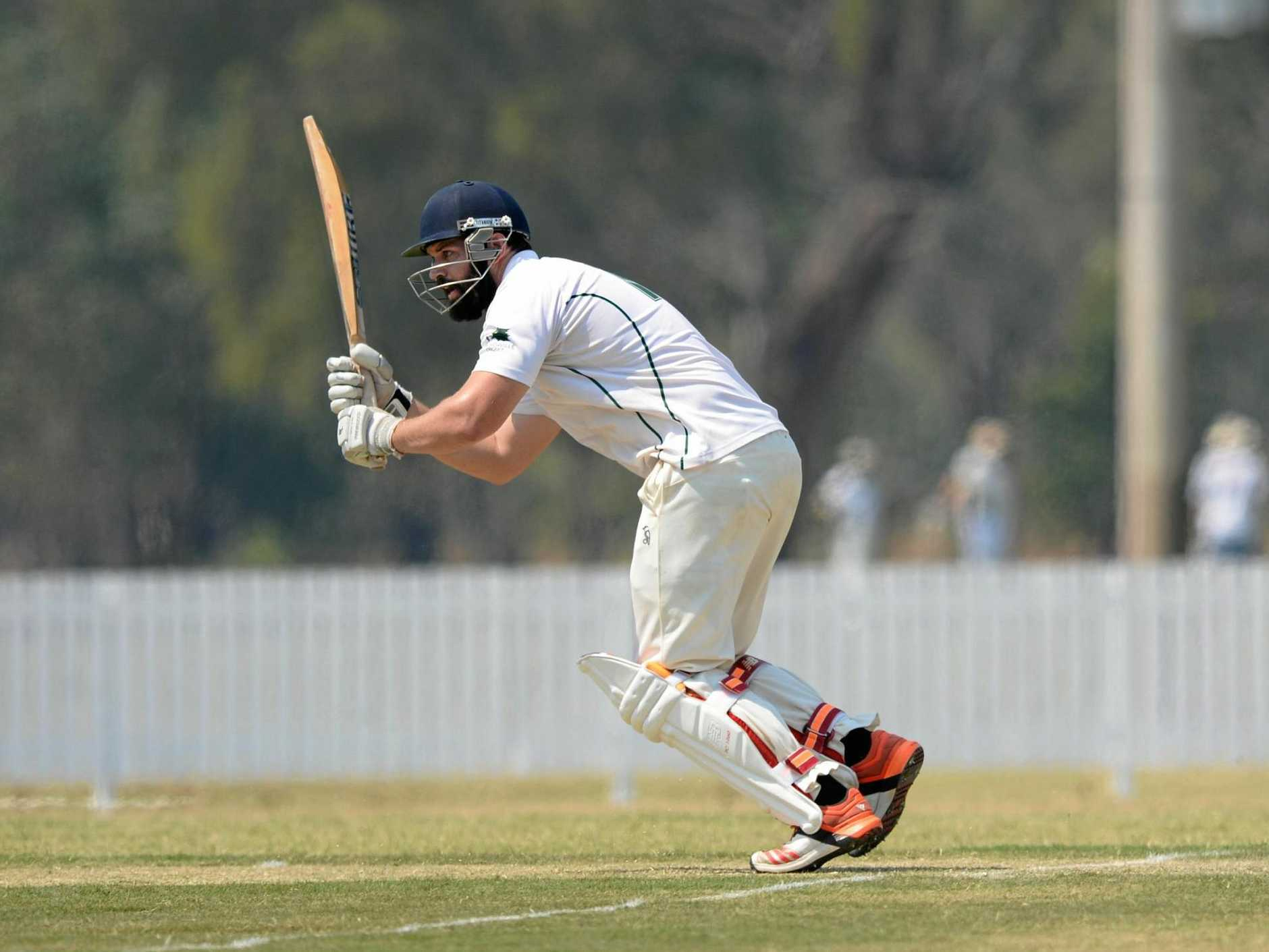 LEADING THE WAY: Talented all-rounder Joe McGahan will assume the captaincy of the CQ Centurions at the North Queensland Championships this weekend.