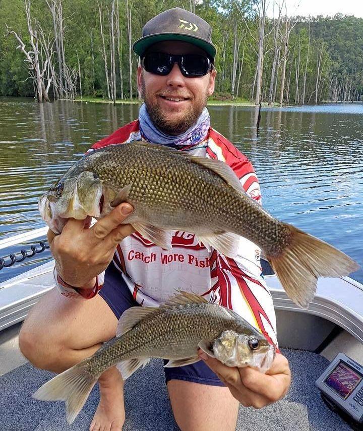 GOTCHA: Hayden Neal had a fantastic fish at Borumba Dam for some quality bass.