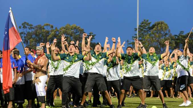 ON THE INTERNATIONAL STAGE: The 2018 Tag World Cup opening ceremony gave Coffs an insight into just how many players are in town this weekend.