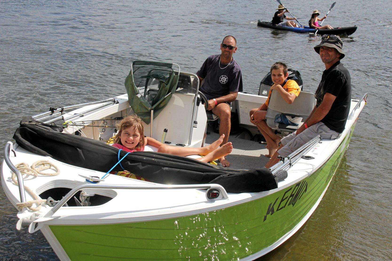 CLASSIC FAMILY TIME: The Mary Valley Family Fishing Classic at Borumba Dam always attracts a large number of families that want to have fun on the water.